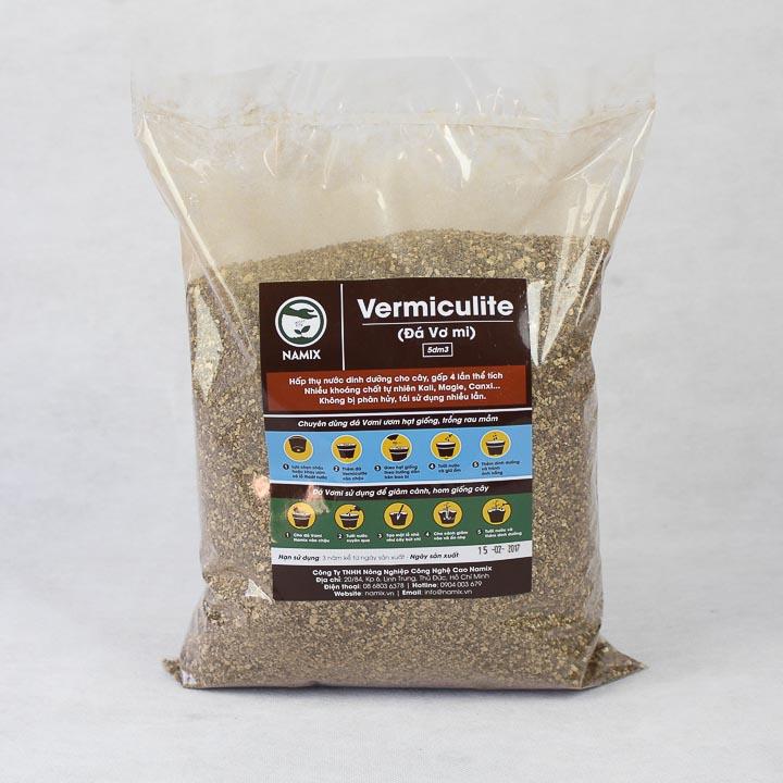 Đá Vơ Mi Namix (Đá Vermiculite Namix) - 1kg- Trồng Rau Mần, Uơm Hạt Giống
