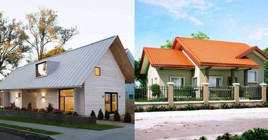 Image result for tôn lạnh nhà mái tôn
