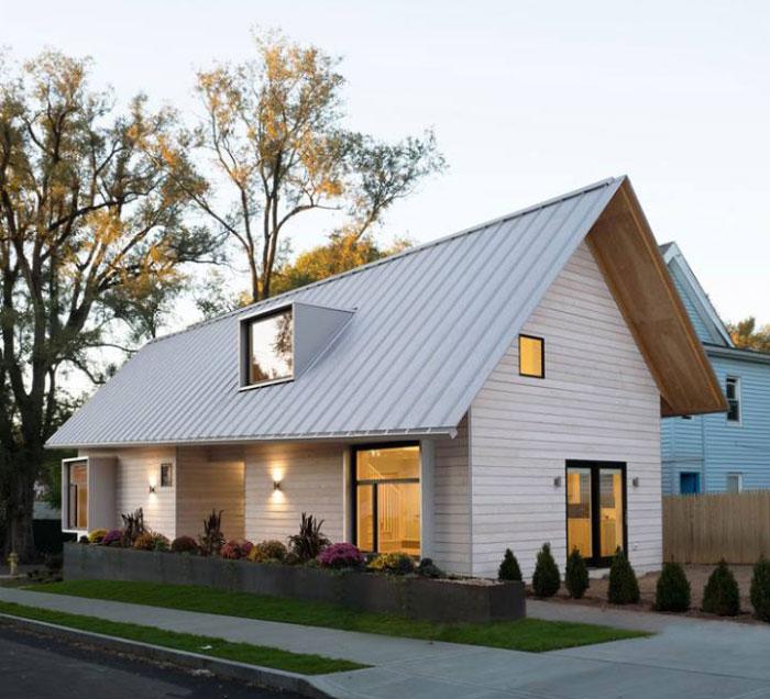 Image result for tôn lạnh đẹp va nhà mái tôn lạnh