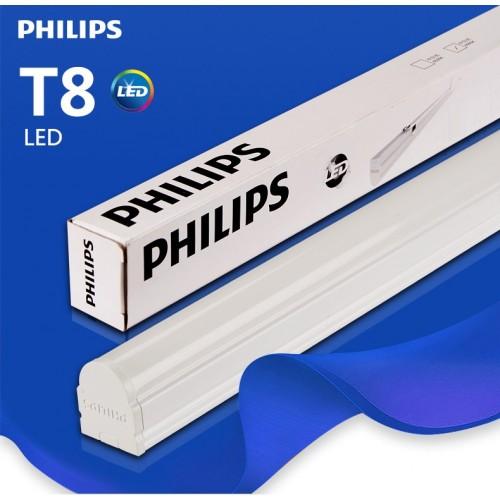 bộ máng đèn led t8 philips liền thân kích thước 1200mm