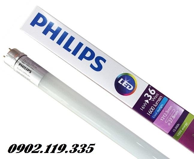 bóng đèn tuýp led Philips T8 chất lượng cao thay thế cho bóng huỳnh quang truyền thống
