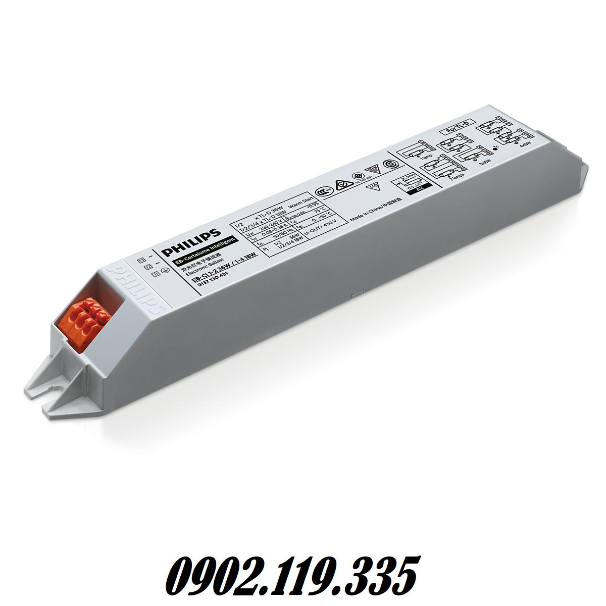 chấn lưu điện tử philips chất lượng cao, an toàn khi sử dụng