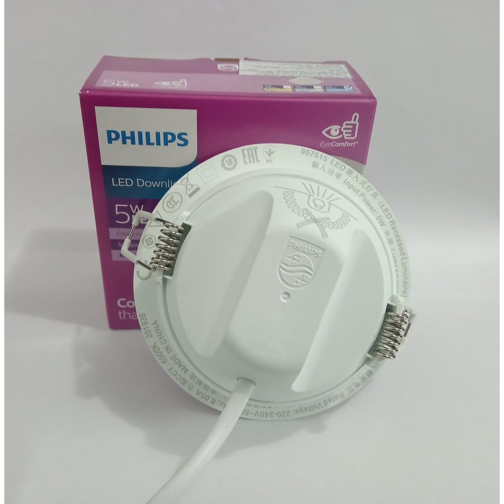 đèn downlight led philips lắp âm trần