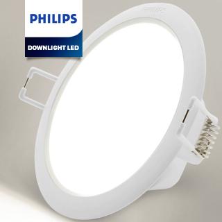 đèn downlight led philips dạng tròn lắp âm trần