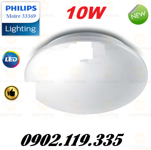 Đèn Ốp Trần Philips 33369 Moire LED CELLING10W