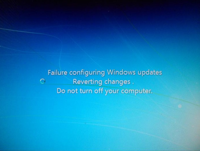 windows 10 failure configuring windows updates reverting changes