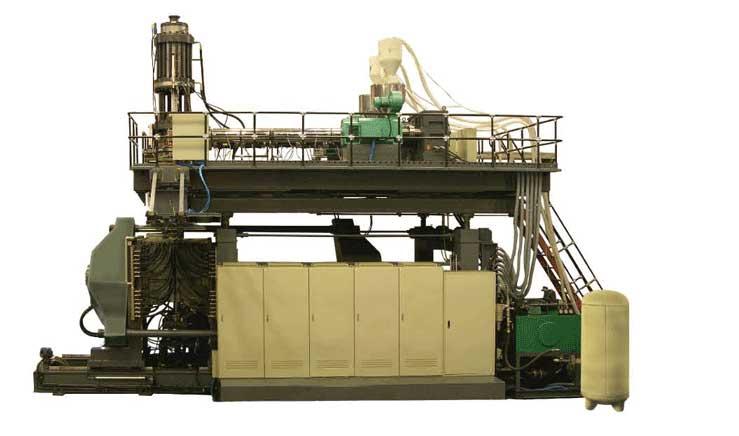 Máy Thổi Công Nghiệp 1000L - HX - 1000L IBC Water Tank Blow Molding Machine