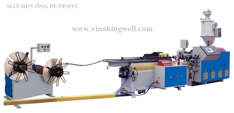Máy Đùn Ống PP/PE/PVC