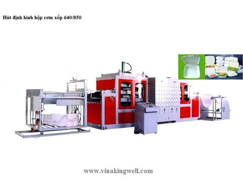 Máy định hình hộp cơm xốp ps FC-640/850
