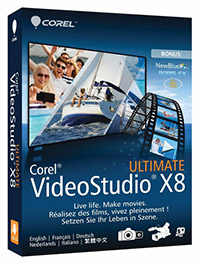 Corel VideoStudio Ultimate X8 Full + Crack + Plugins + Bonus Content