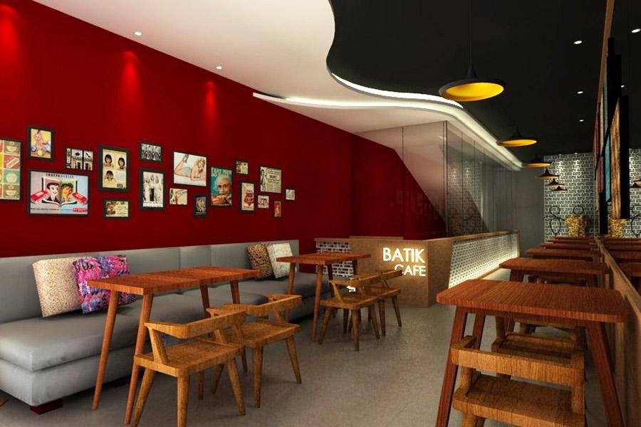 Thiết Kế Nội Thất Bar - Cafe a20