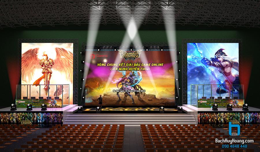 Thiết Kế Lễ Hội, Sự Kiện Cộng Đồng - VCK LIEN MINH HUYEN THOAI - GARENA