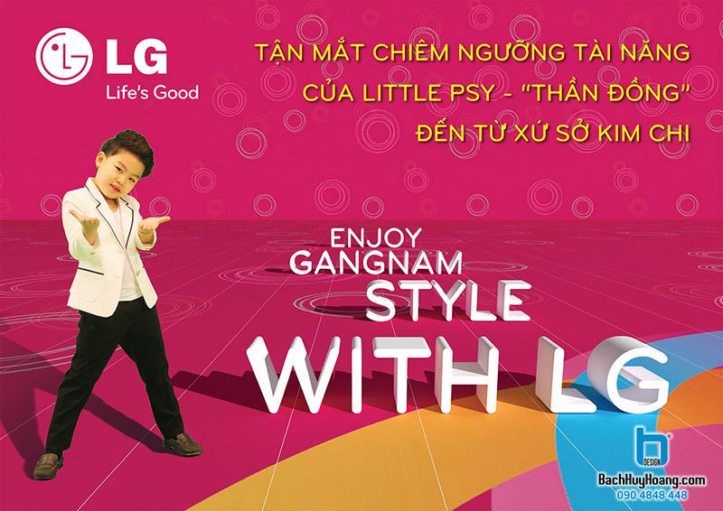 ENJOY GANGNAM STYLE WITH LG
