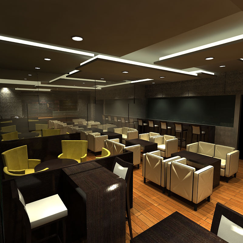 Thiết Kế Nội Thất Bar - Cafe a21