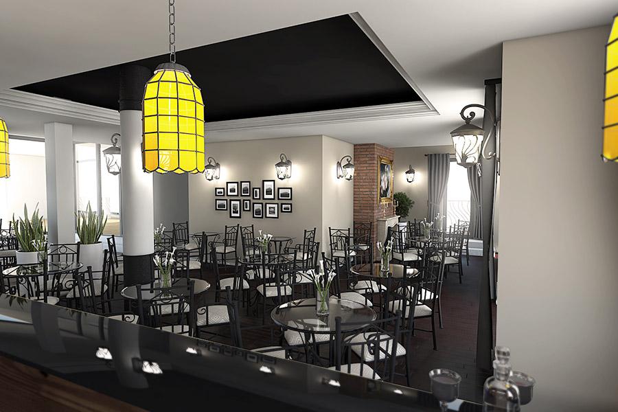 Thiết Kế Nội Thất Bar - Cafe a22