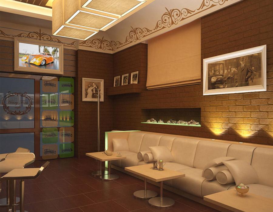 Thiết Kế Nội Thất Bar - Cafe a23
