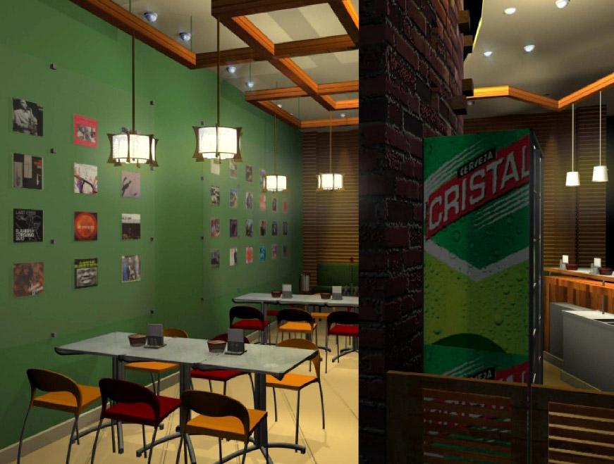 Thiết Kế Nội Thất Bar - Cafe a24
