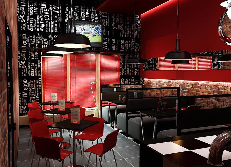Thiết Kế Nội Thất Bar - Cafe a25