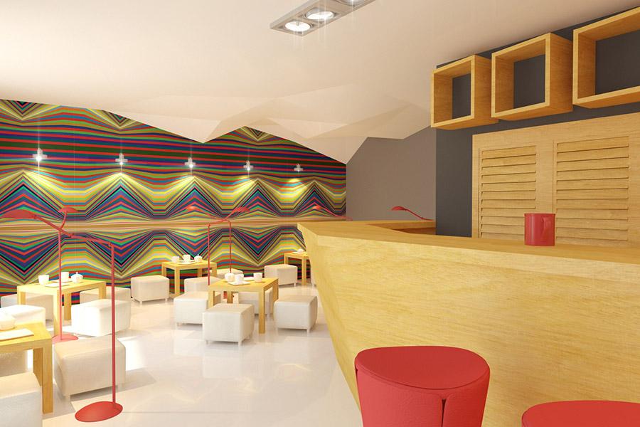 Thiết Kế Nội Thất Bar - Cafe a26