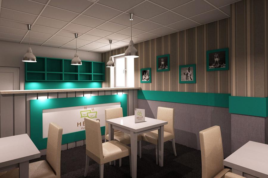 Thiết Kế Nội Thất Bar - Cafe a28