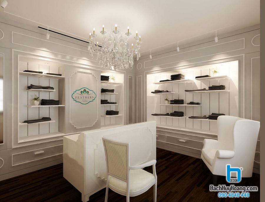 Thiết Kế Nội Thất Showroom S3