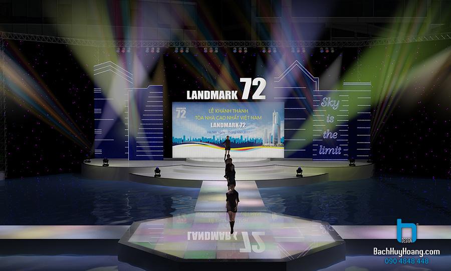 Thiết kế Lễ Khánh Thành Keangnam Landmark 72