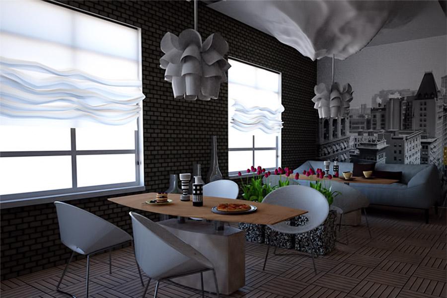 Thiết Kế Nội Thất Bar - Cafe a11