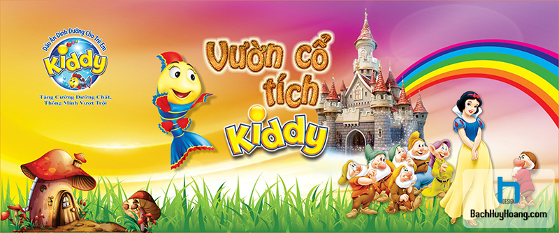 VƯỜN CỔ TÍCH KIDDY - SƠN CA HẢI PHÒNG 2013