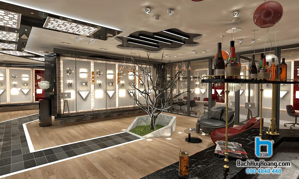 Thiết Kế Nội Thất Showroom s9