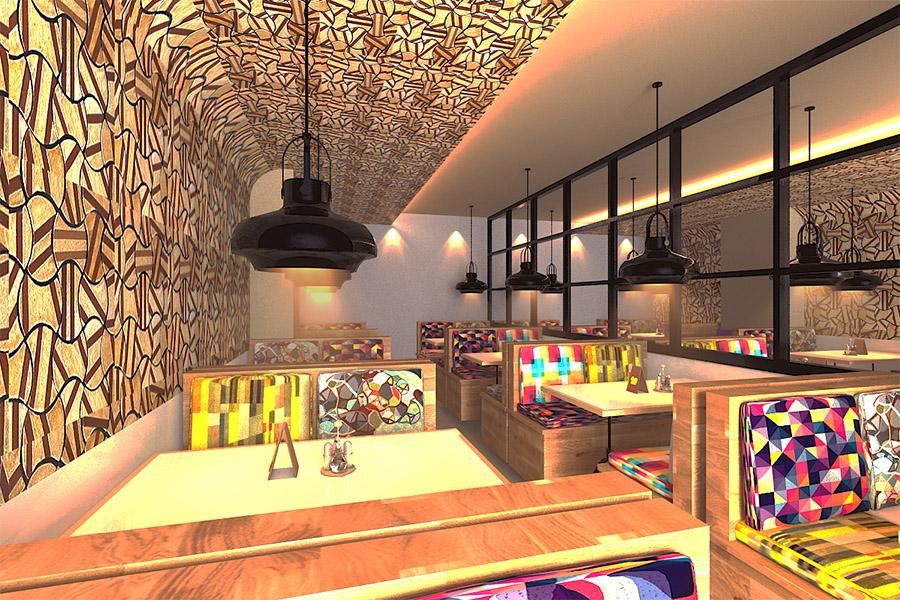 Thiết Kế Nội Thất Bar - Cafe a14