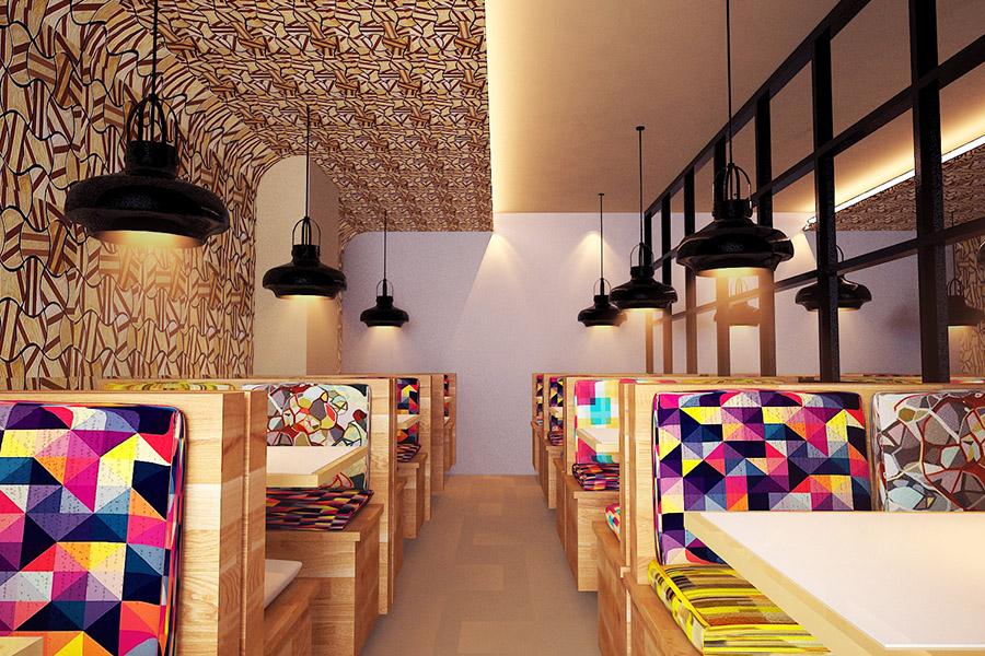 Thiết Kế Nội Thất Bar - Cafe a15