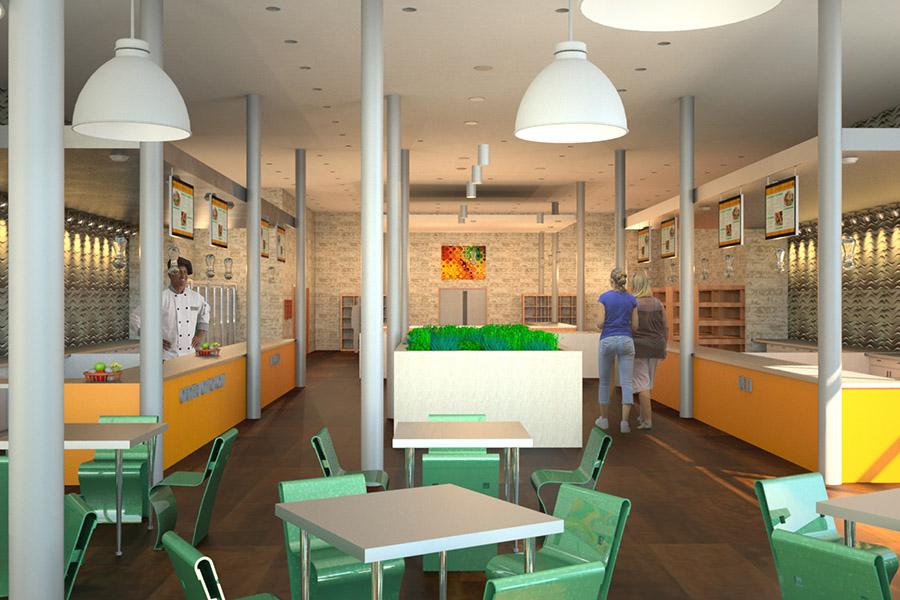 Thiết Kế Nội Thất Bar - Cafe a16