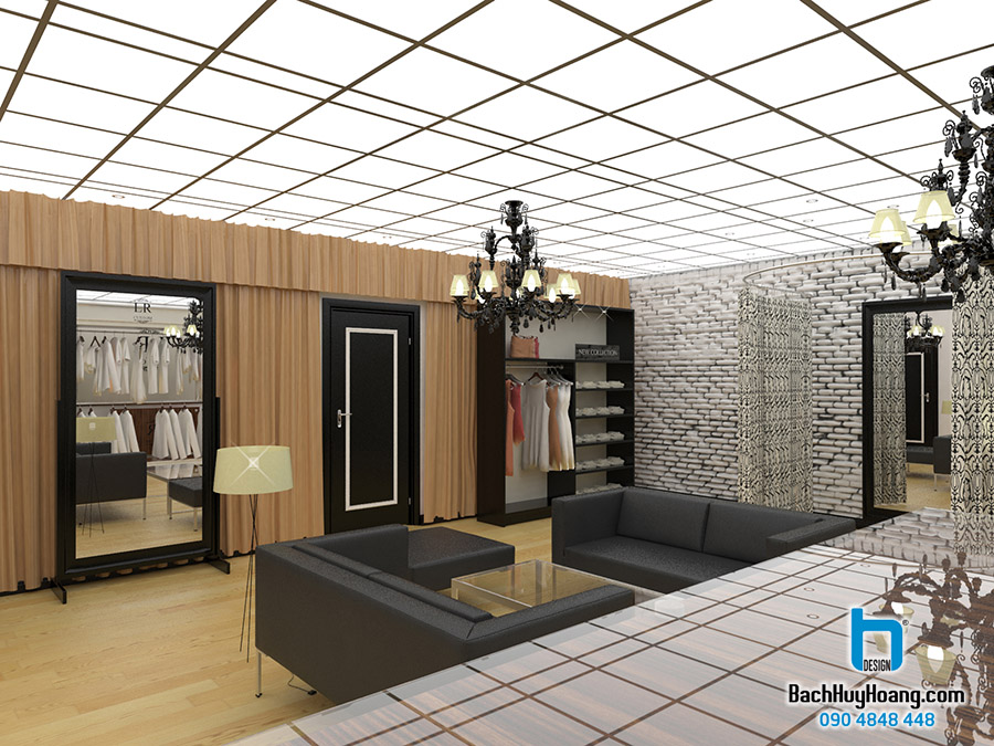 Thiết Kế Nội Thất Showroom s13