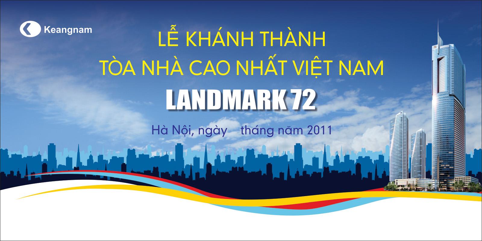 Thiết Kế Backdrop - Phông Sân Khấu - Keangnam Landmark72