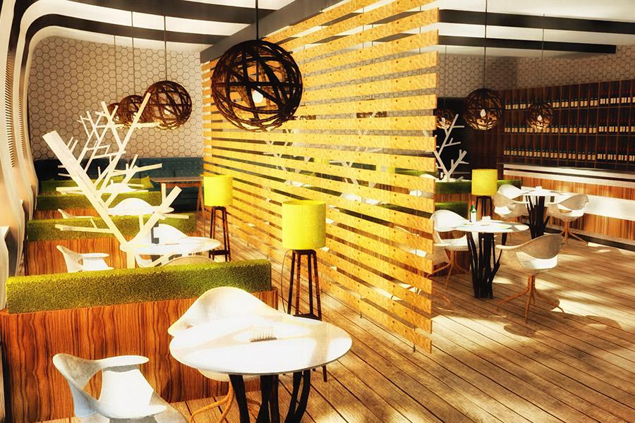 Thiết Kế Nội Thất Bar - Cafe a17
