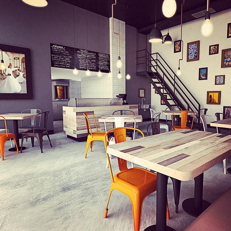 Thiết Kế Nội Thất Bar - Cafe a18