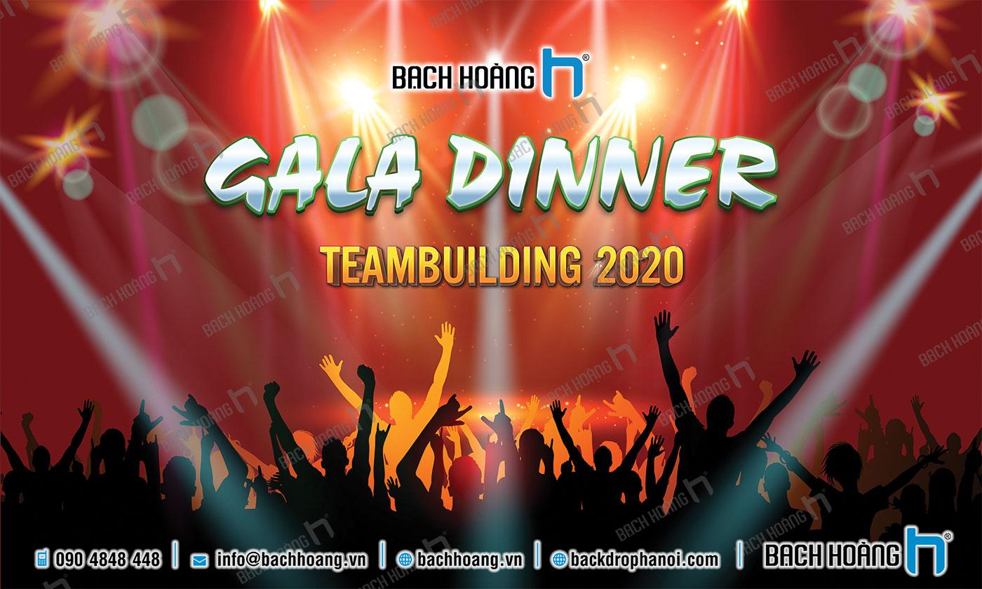 Thiết Kế Backdrop - Phông Gala Dinner - Team Building mẫu 02