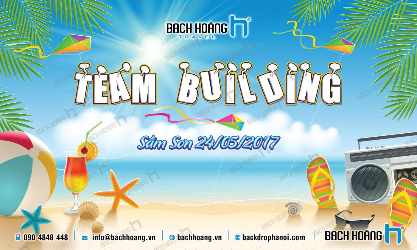 Thiết Kế Backdrop - Phông Gala Dinner - Team Building mẫu 03