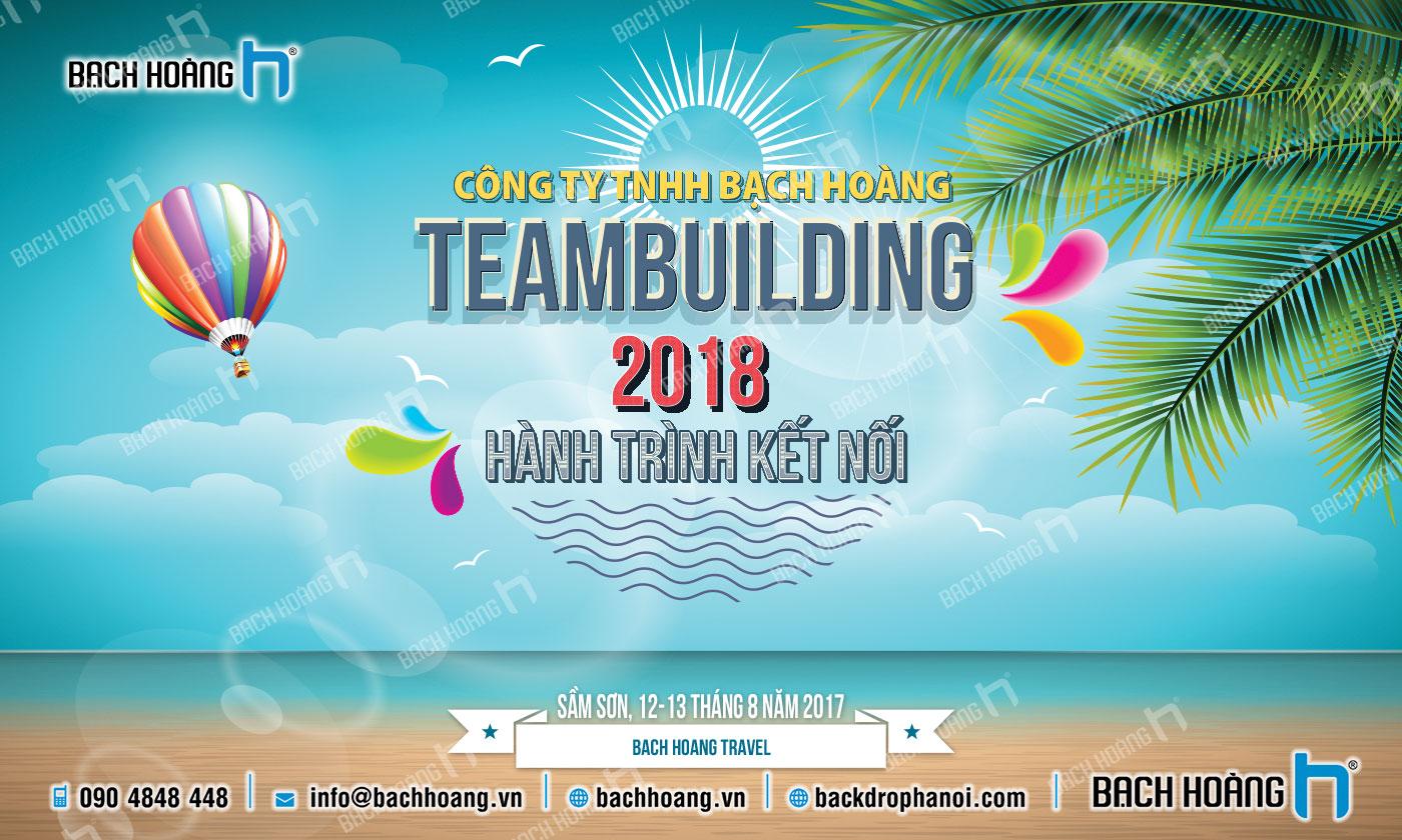 Thiết Kế Backdrop - Phông Gala Dinner - Team Building mẫu 19