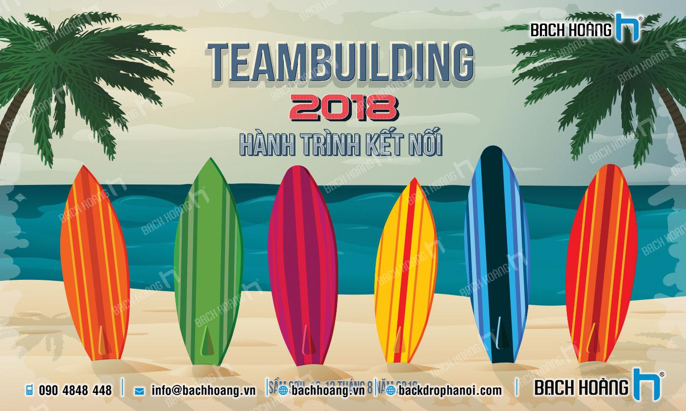 Thiết Kế Backdrop - Phông Gala Dinner - Team Building mẫu 20