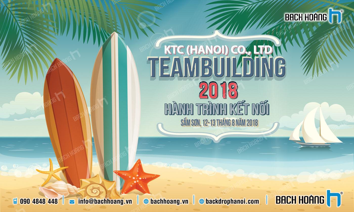 Thiết Kế Backdrop - Phông Gala Dinner - Team Building mẫu 21