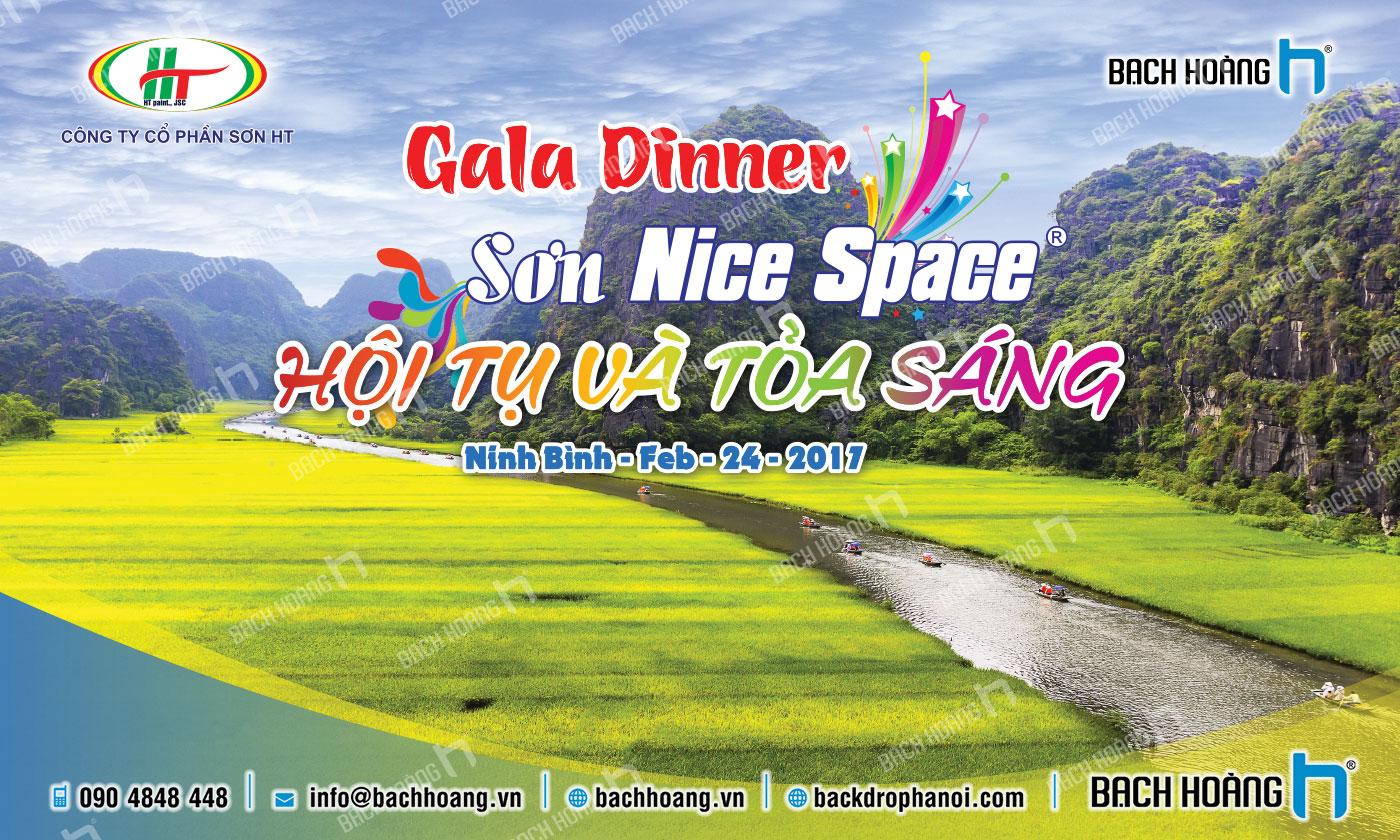 Thiết Kế Backdrop - Phông Gala Dinner - Team Building mẫu 23