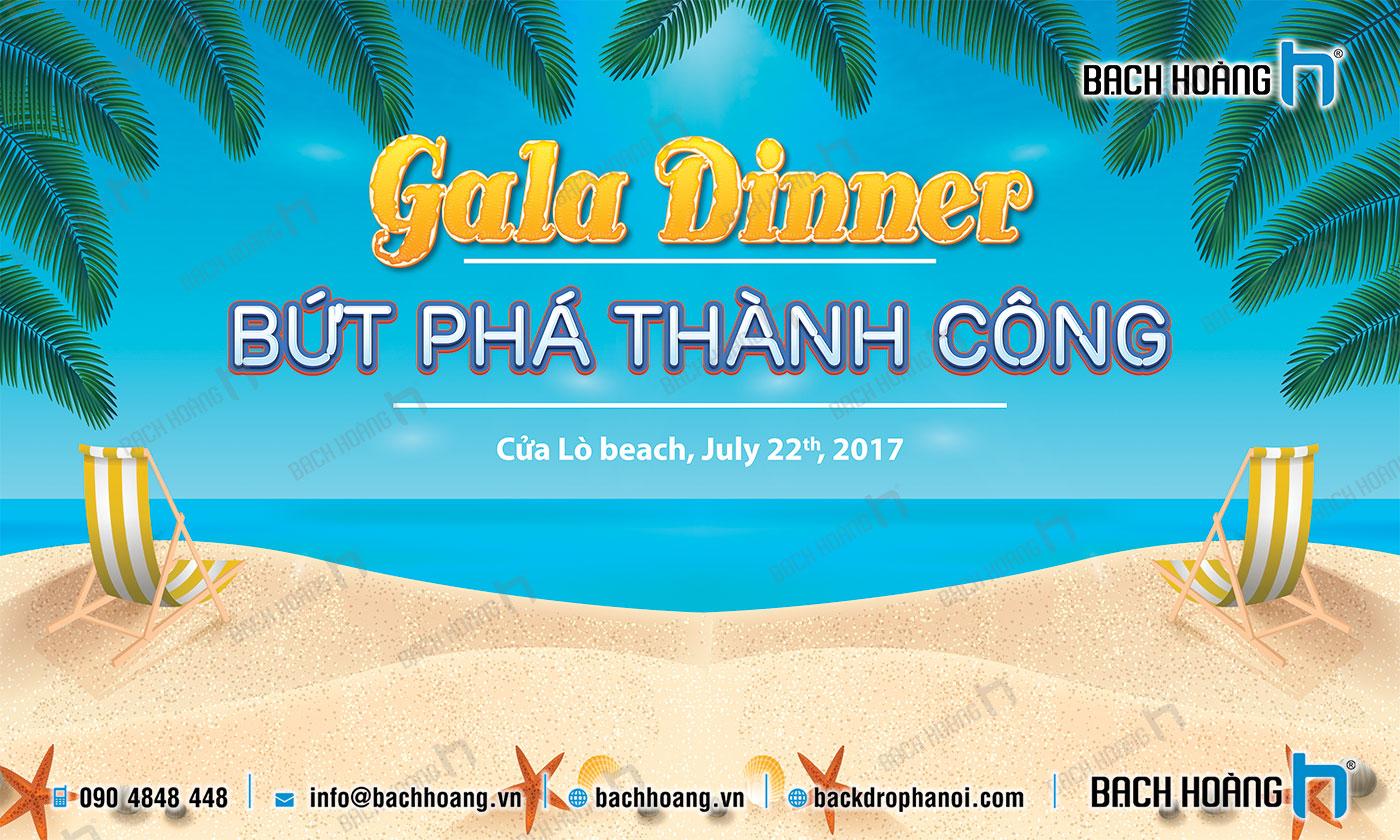 Thiết Kế Backdrop - Phông Gala Dinner - Team Building mẫu 24