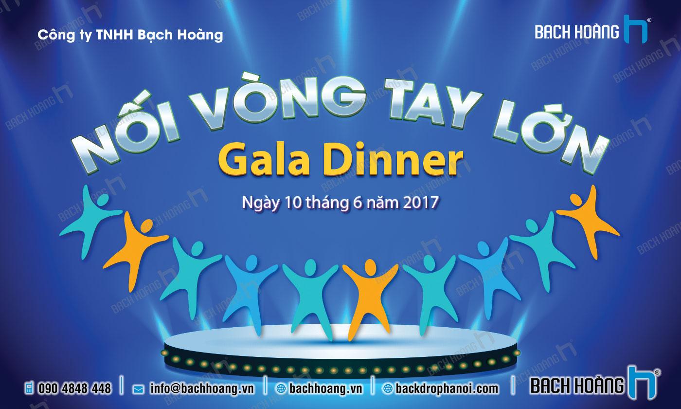 Thiết Kế Backdrop - Phông Gala Dinner - Team Building mẫu 31