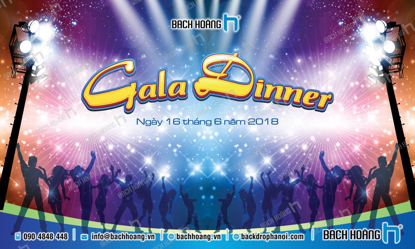 Thiết Kế Backdrop - Phông Gala Dinner - Team Building mẫu 32