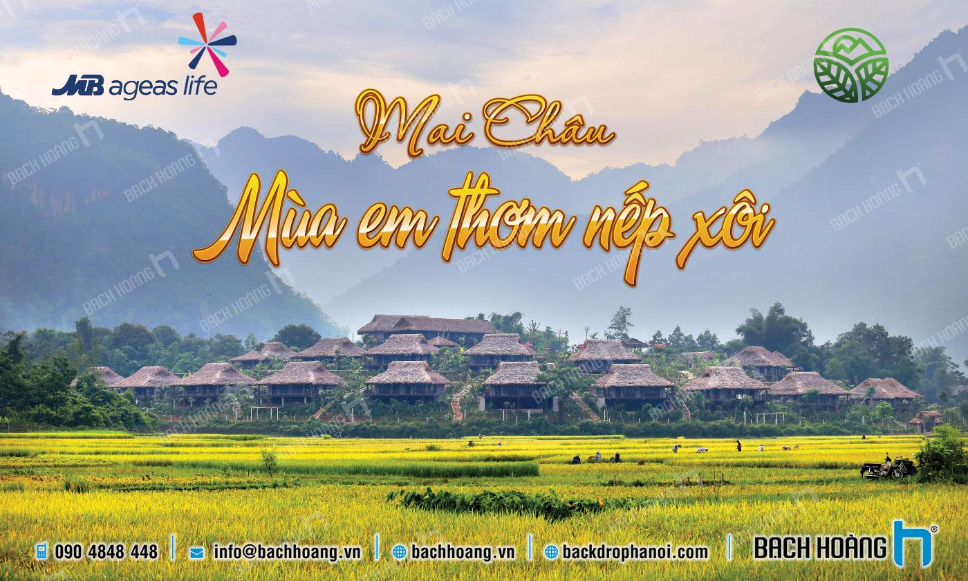 Thiết Kế Backdrop - Phông Gala Dinner - Team Building mẫu 34