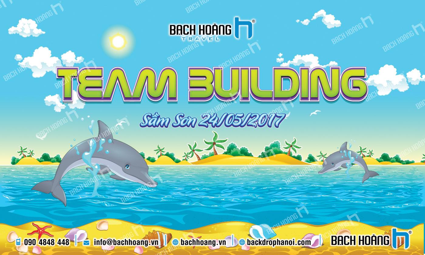 Thiết Kế Backdrop - Phông Gala Dinner - Team Building mẫu 39