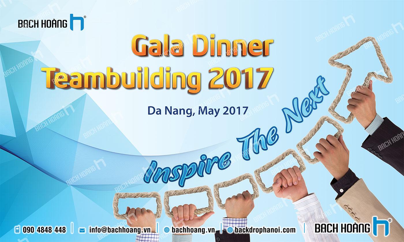 Thiết Kế Backdrop - Phông Gala Dinner - Team Building mẫu 42