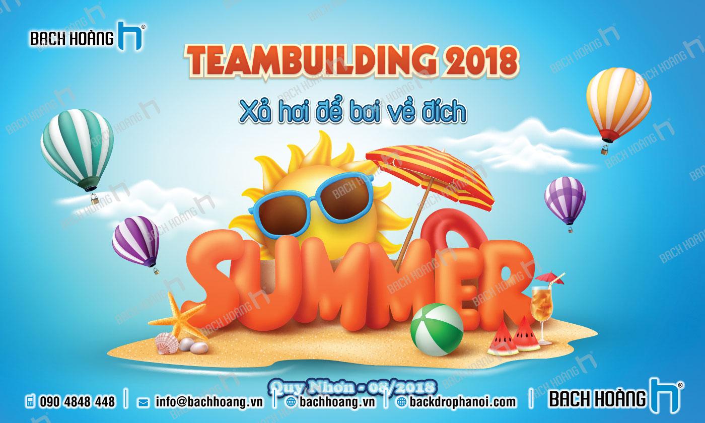 Thiết Kế Backdrop - Phông Gala Dinner - Team Building mẫu 43