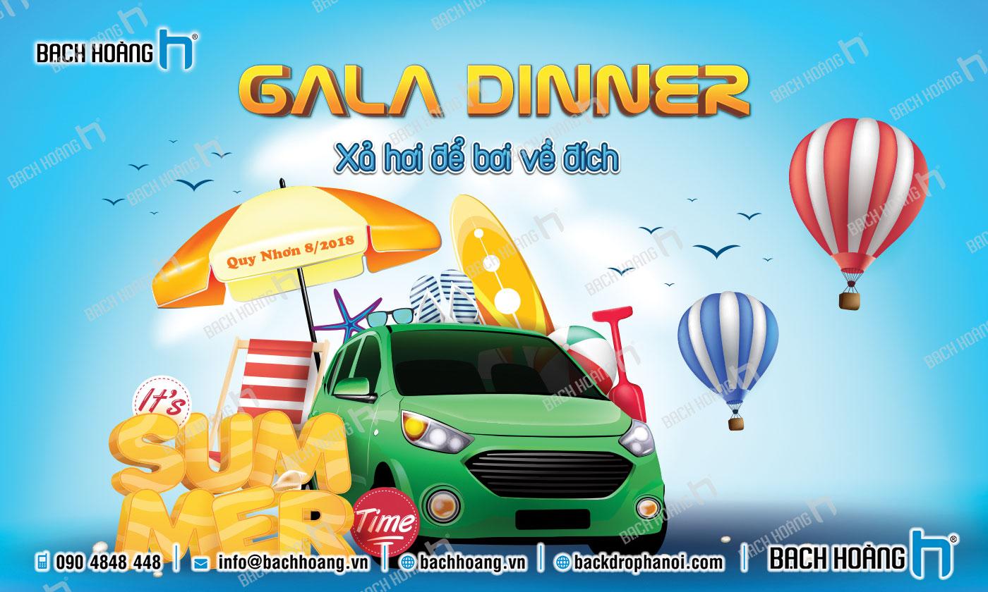 Thiết Kế Backdrop - Phông Gala Dinner - Team Building mẫu 44